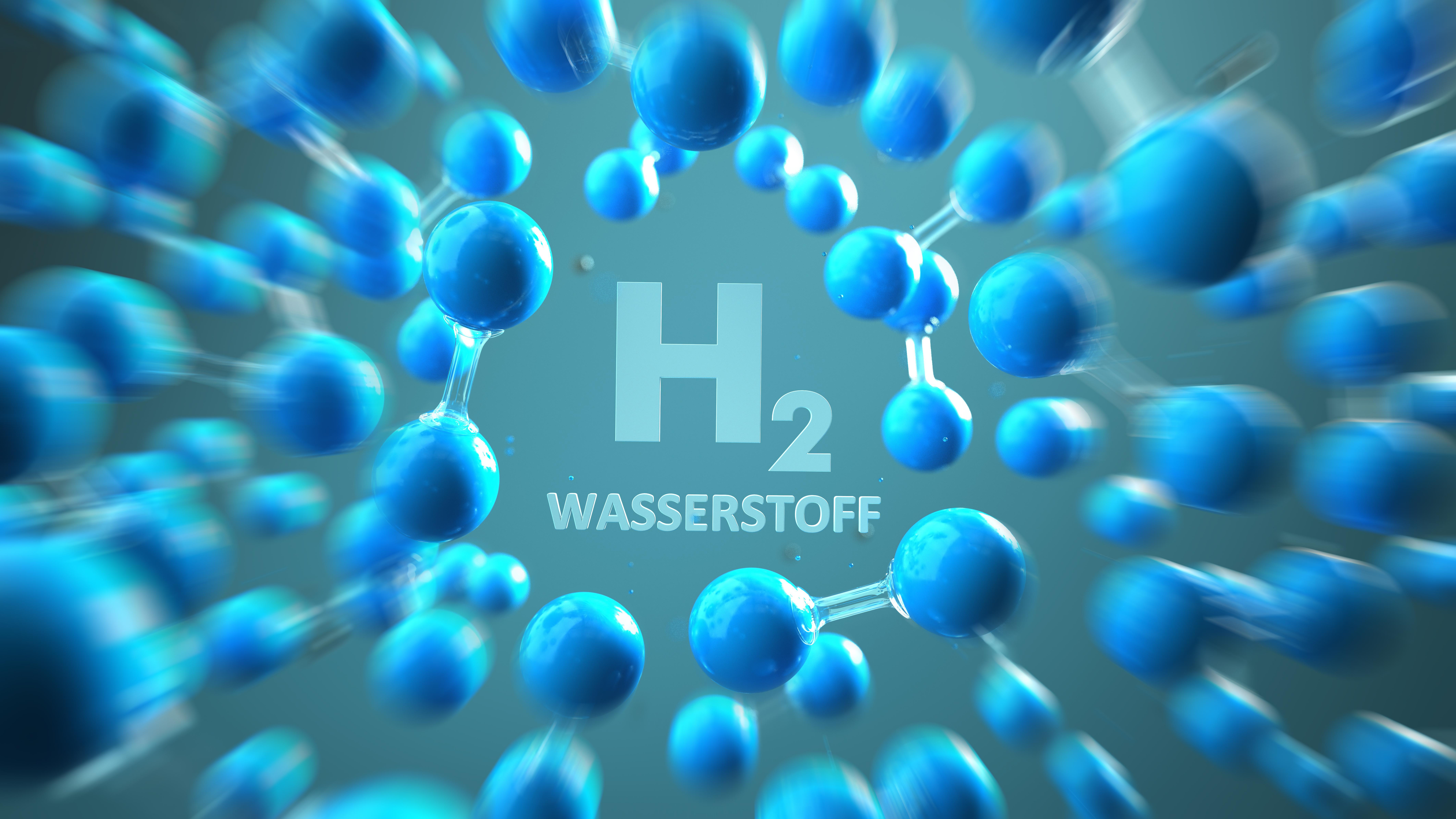 Die Farben des Wasserstoffs
